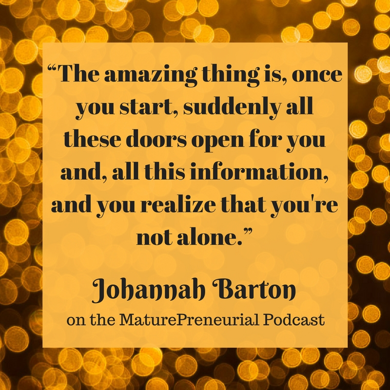 Quote from Johannah Barton