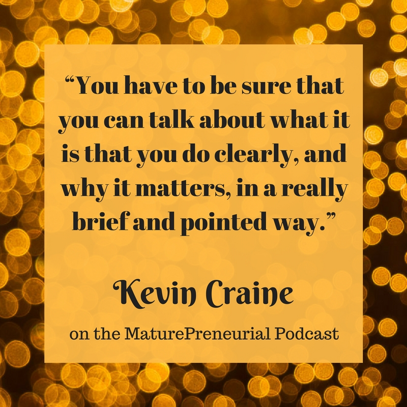 Quote from Kevin Craine