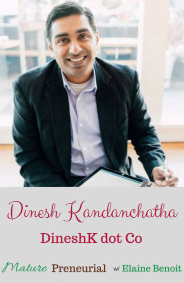 Dinesh Kandanchatha for Pinterest