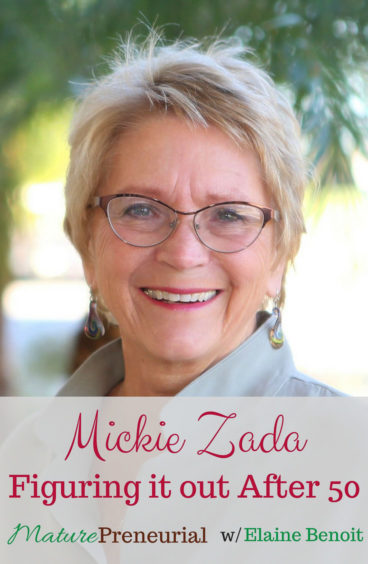 Mickie Zada for Pinterest