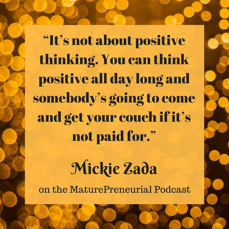 Mickie Zada Quote