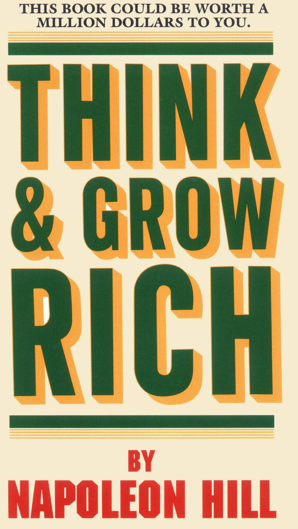 Image of Think & Grow Rich book cover