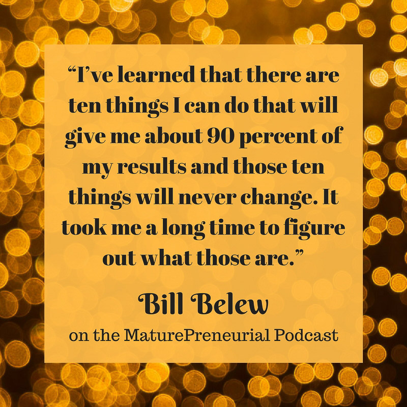 Bill Belew Quote