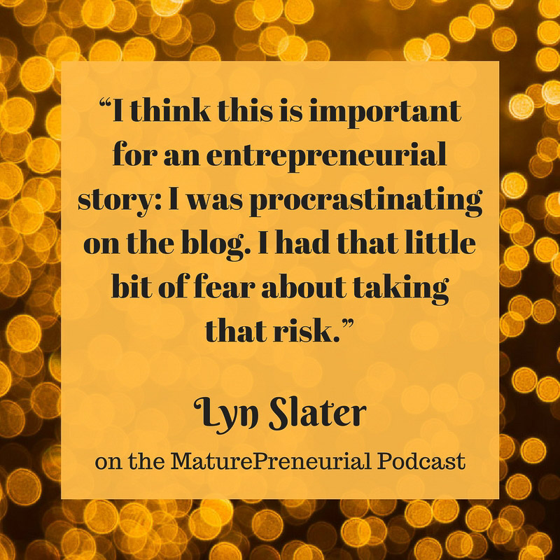 Lyn Slater Quote