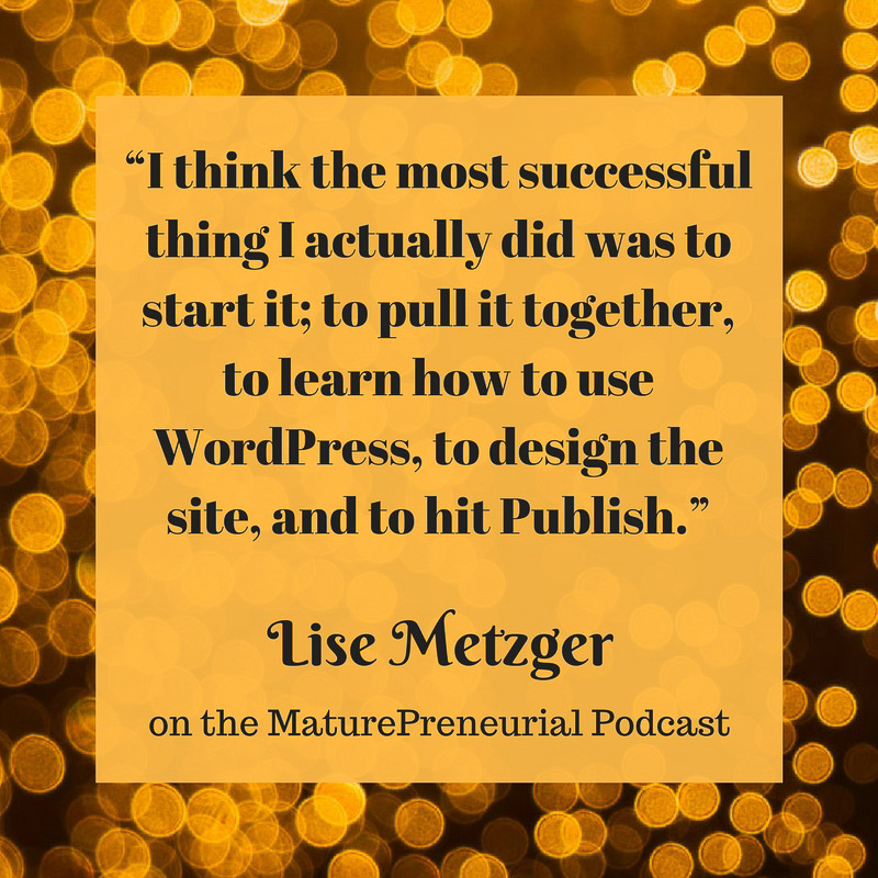 Lise Metzger Quote
