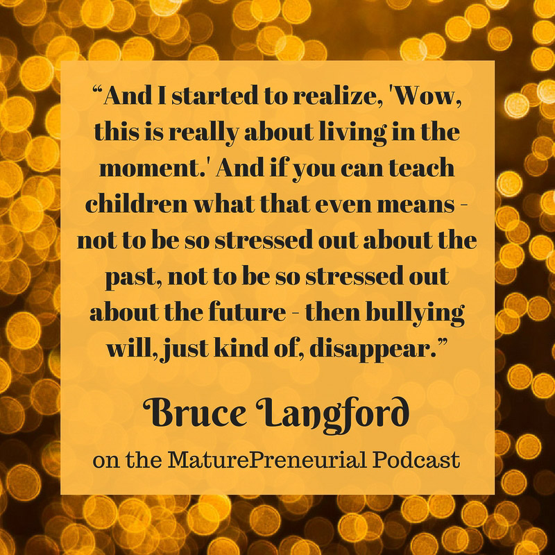 Bruce Langford Quote