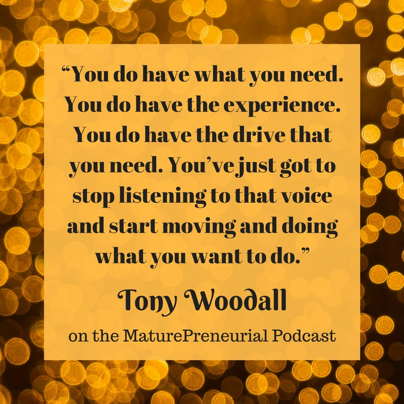 Tony Woodall Quote