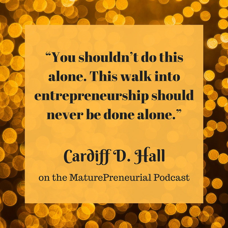 Cardiff D. Hall Quote