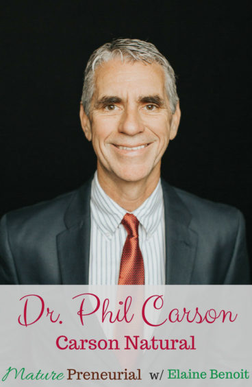 Dr. Phil Carson helps others live healthier lives!
