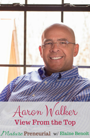 Aaron Walker is a dynamic man! He's a serial entrepreuer. His first business at 18, but at 40 he experienced a traumatic event which changed his life.