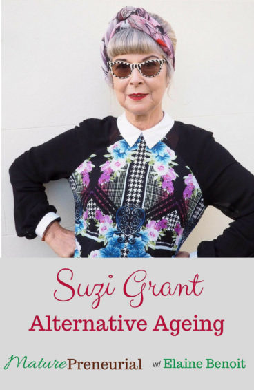 Suzi Grant from Alternative Ageing is such a fun dynamic woman! Her blog educates and inspires many people!