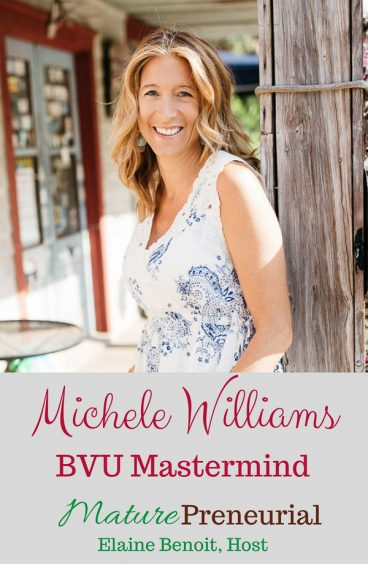 Michele Williams | BVU Mastermind for Pinterest