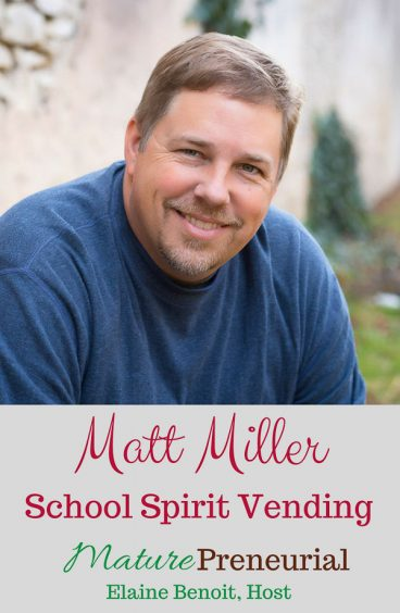 Matt Miller | School Spirit Vending for Pinterest